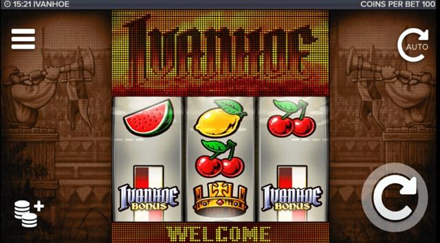Игровой автомат Ivanhoe
