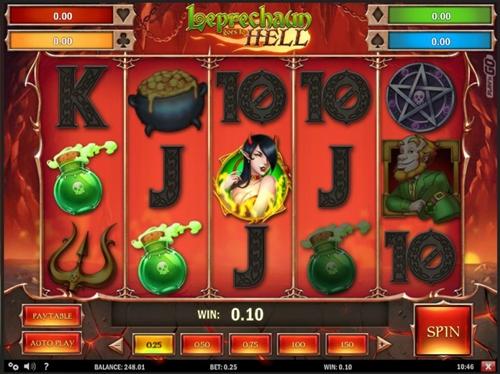 Игровой автомат leprechauns luck