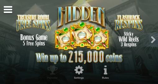 Игровой автомат Hidden