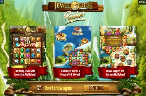 Игровой автомат Jewel Quest Riches