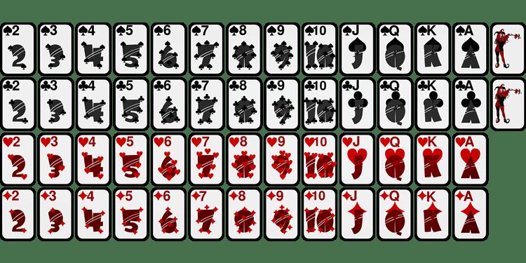 Игральные карты png для распечатки