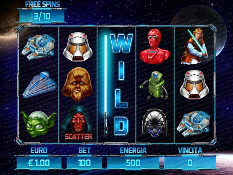 Star Wars slot machine  Star Wars slot game  Star Wars themed     star wars game wild
