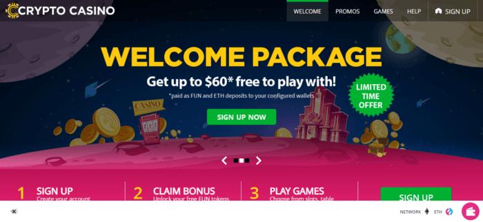 Best casino sites no deposit