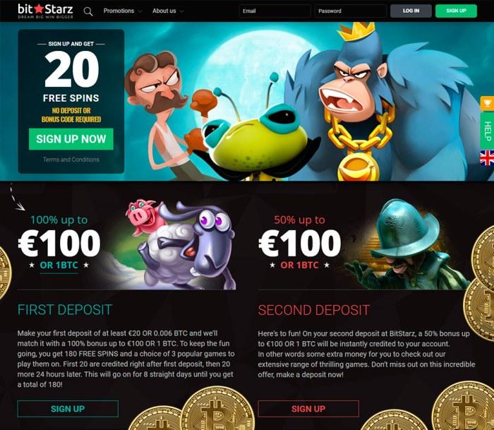 Bitstarz bitcoin casino ingen innskuddsbonus codes 2021