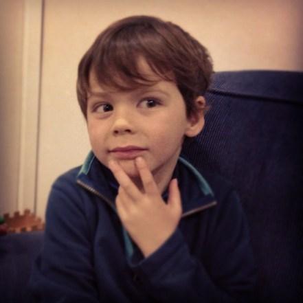 Isaac: definitely a thinker