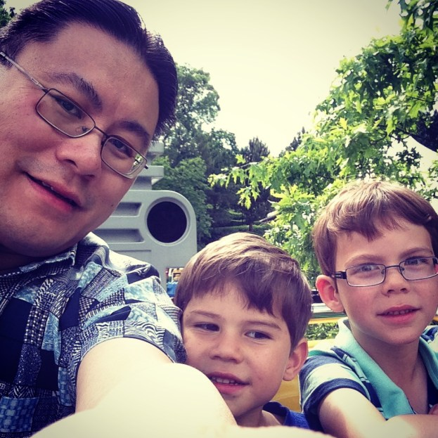 Boys day out selfie