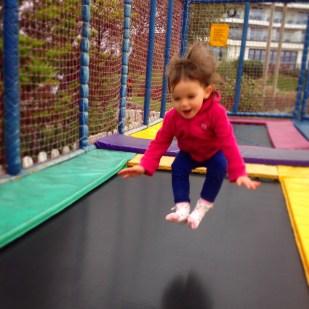 Butlins Kara trampoline