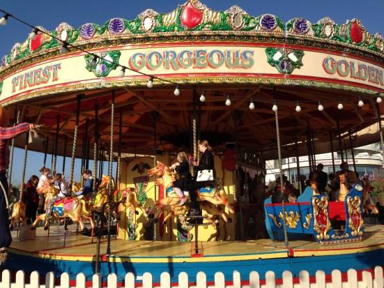Butlins merry-go-round
