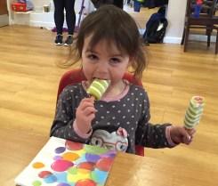 Kara two ice creams