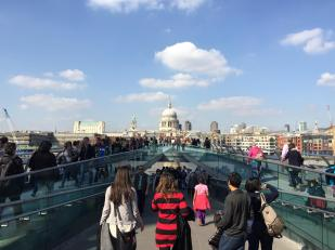 St Paul's and the Millennium Bridge