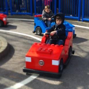 Legoland Toby driving