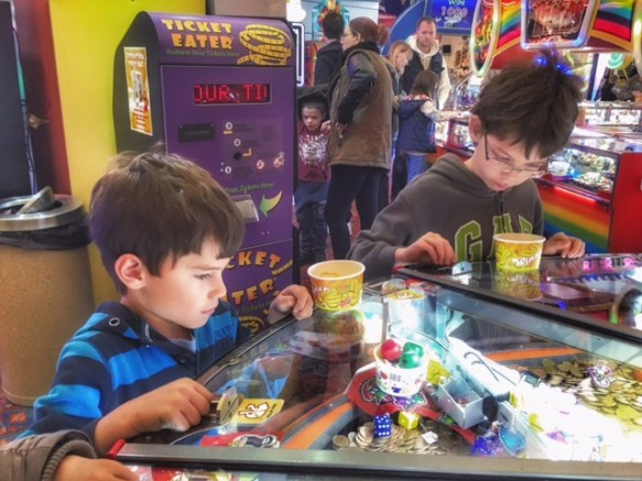 Toby Isaac penny arcade