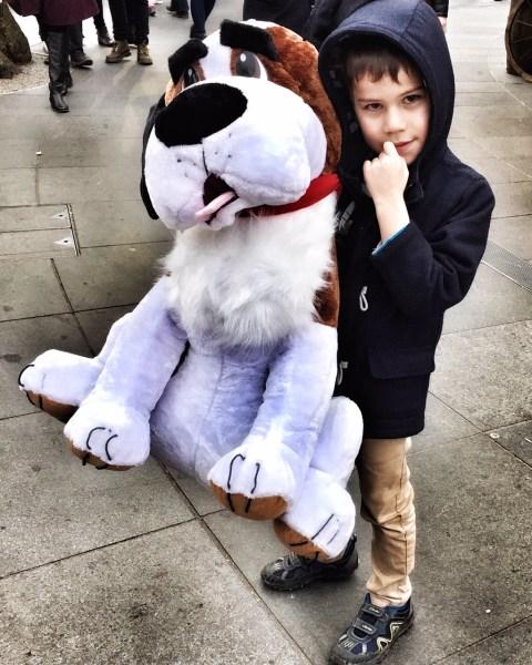 Toby giant dog