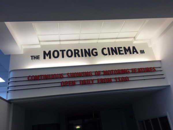 British Motor Museum motoring cinema