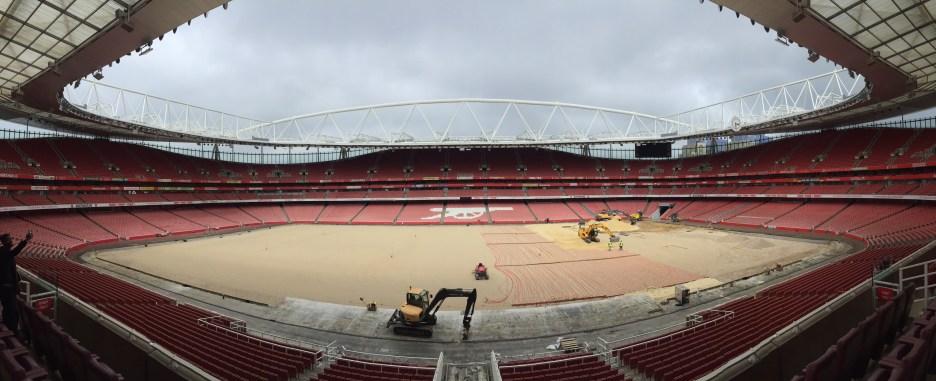 Emirates Stadium panorama