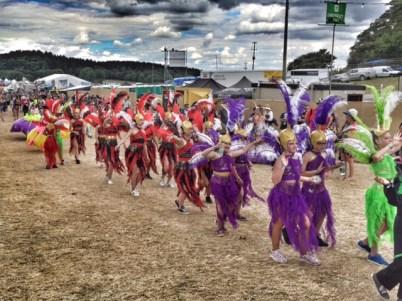 Camp Bestival carnival 2
