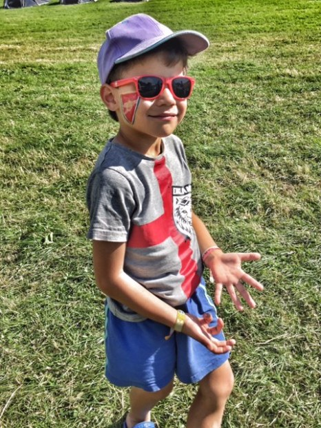 Camp Bestival Toby cool dude