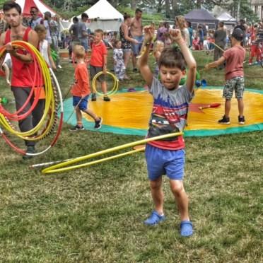 Camp Bestival Toby hula hoop