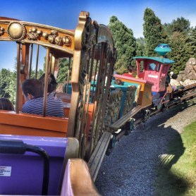 Disneyland Paris Caey train ride