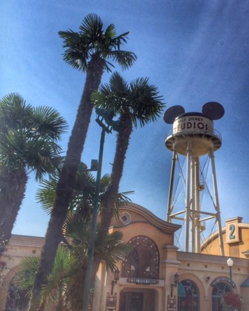 Disneyland Paris Wat Disney Studios water tower
