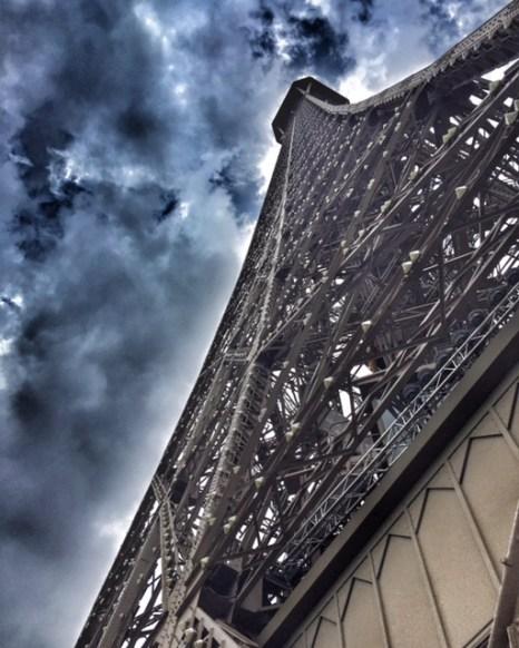 Paris Eiffel Tower from base