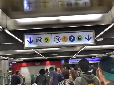 Paris Metro sign