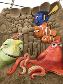Weymouth Sand World Finding Dory