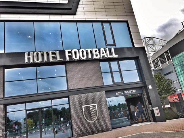 BlogOn X venue Hotel football Manchester