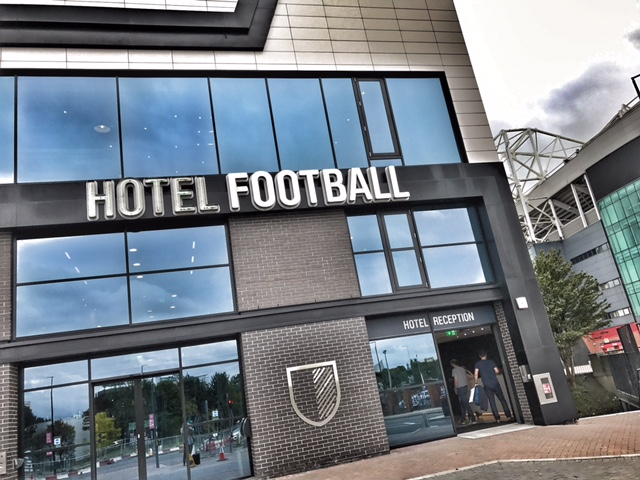 BlogOn X venue Hotel football Manchester