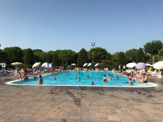 Summer holiday 2017 Del Garda Village and Camping pool