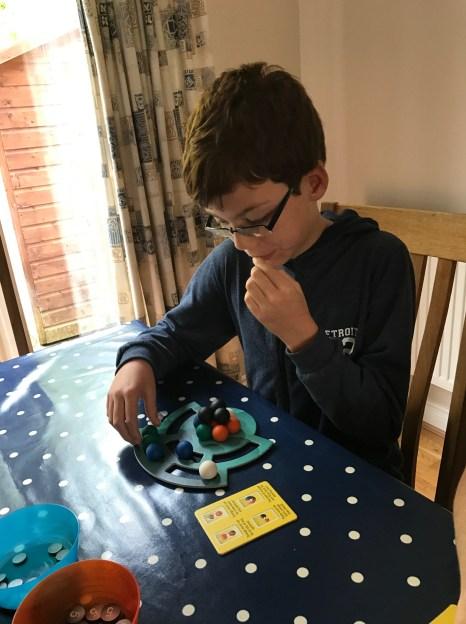 Isaac playing Dimension