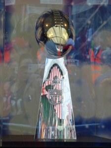 Twickenham NFL Los Angeles Rams vs Arizona Cardinals 22/10/17 Vince Lombardi trophy