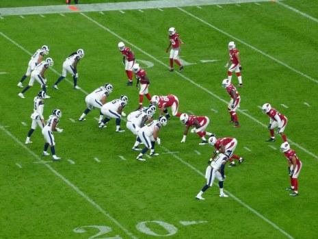 Twickenham NFL Los Angeles Rams vs Arizona Cardinals 22/10/17