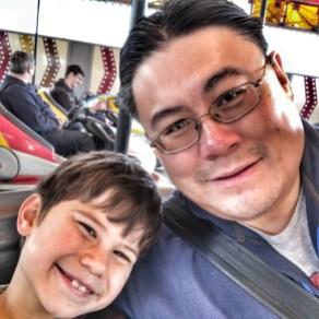 Butlins Bognor Regis 2017 Daddy Toby dodgems