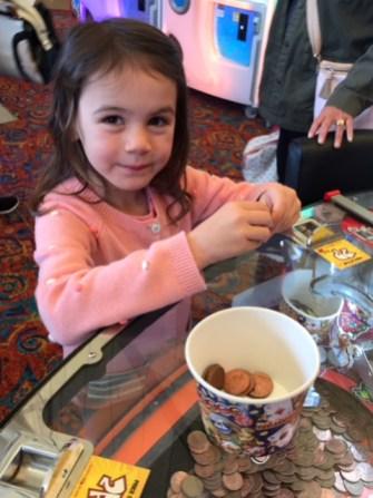 Butlins Bognor Regis 2017 Kara arcade