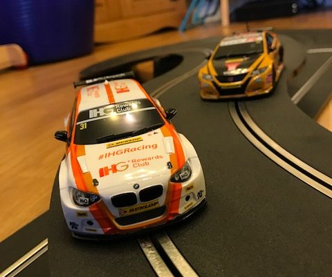 Sclaextric Touring Car Battle