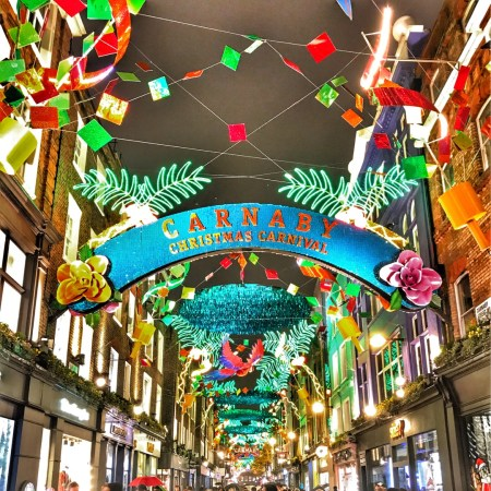 Carnaby Street Christmas lights