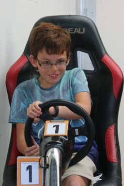 Isaac's 10th birthday letter driving at Silverstone