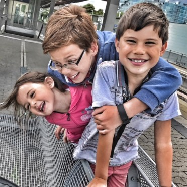 Isaac's 10th birthday letter with Toby and Kara in Stuttgart