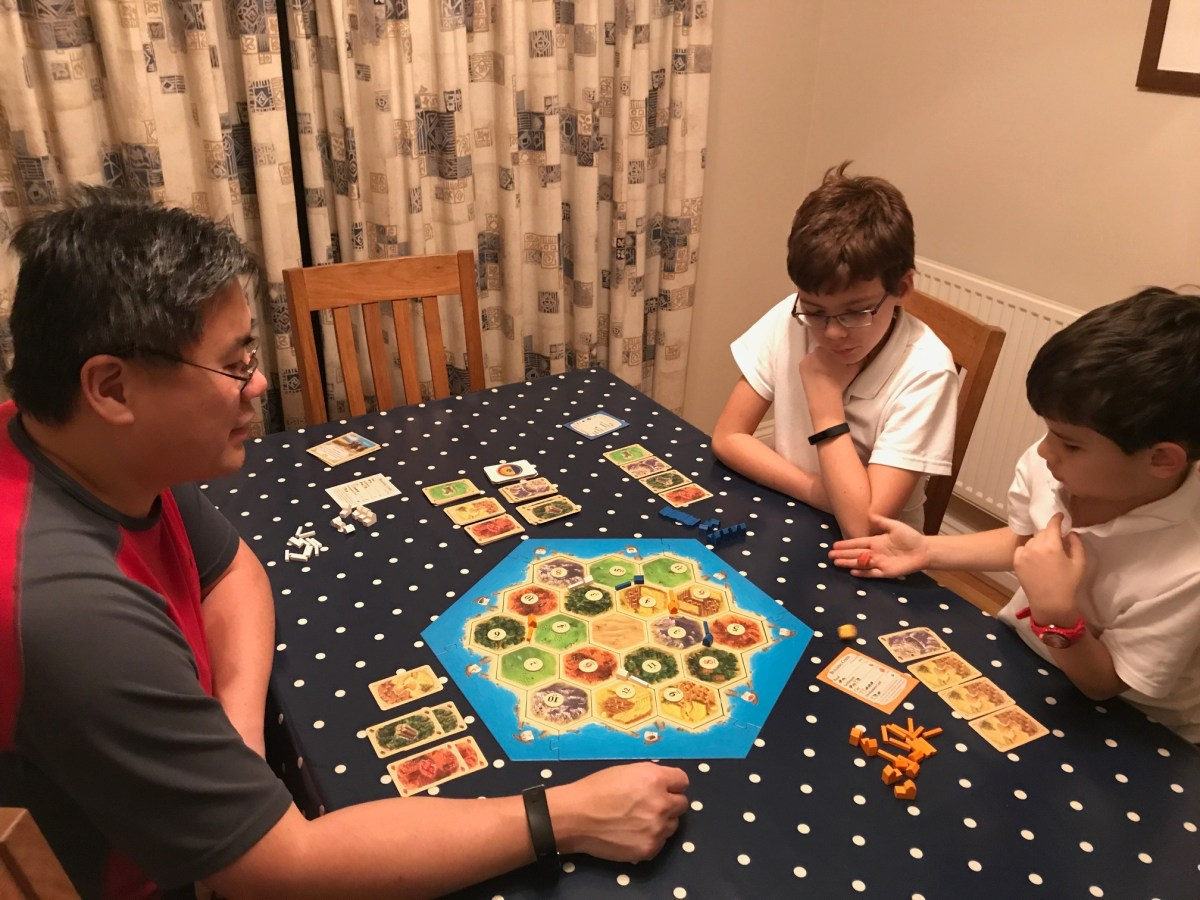 Catan game review