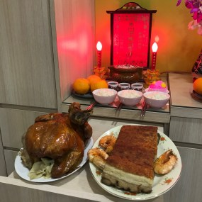 Malaysia 2018 Chinese New Year food