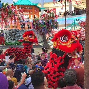 Malaysia 2018 Chinese New Year lion dance