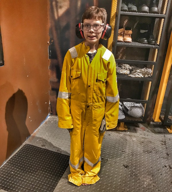 Malaysia 2018 Petrosains Isaac oil rig worker