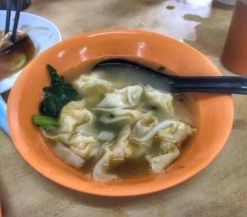 Malaysia 2018 wonton soup