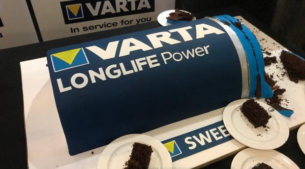 BlogOnX Varta cake