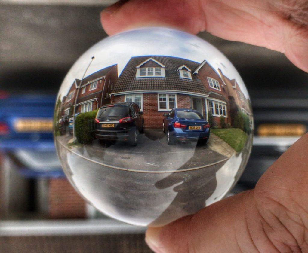 House photo via Lensball