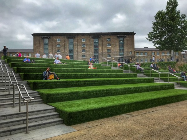 Granary Square King's Cross