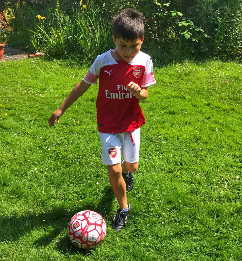 Toby football Arsenal FIFA 2018 World Cup