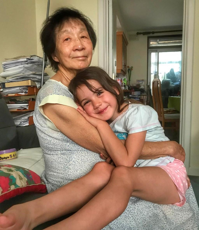 Kara and Grandma - halfrterm holiday