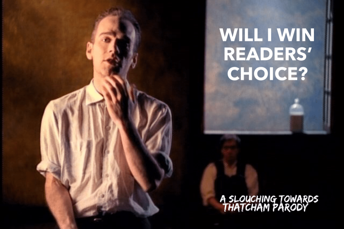 A #BiBs2018 parody song: Will I Win Readers' Choice?